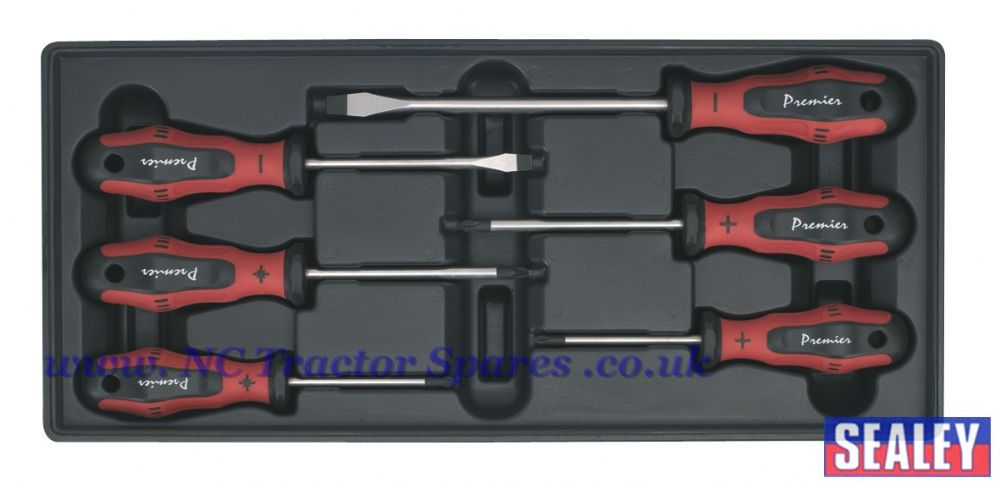 Tool Tray with ProMAX Screwdriver Set 6pc